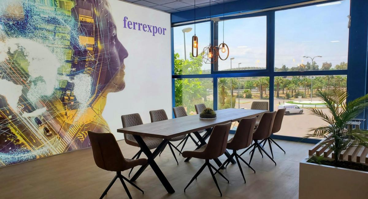 Diseño para la empresa Ferrexpor